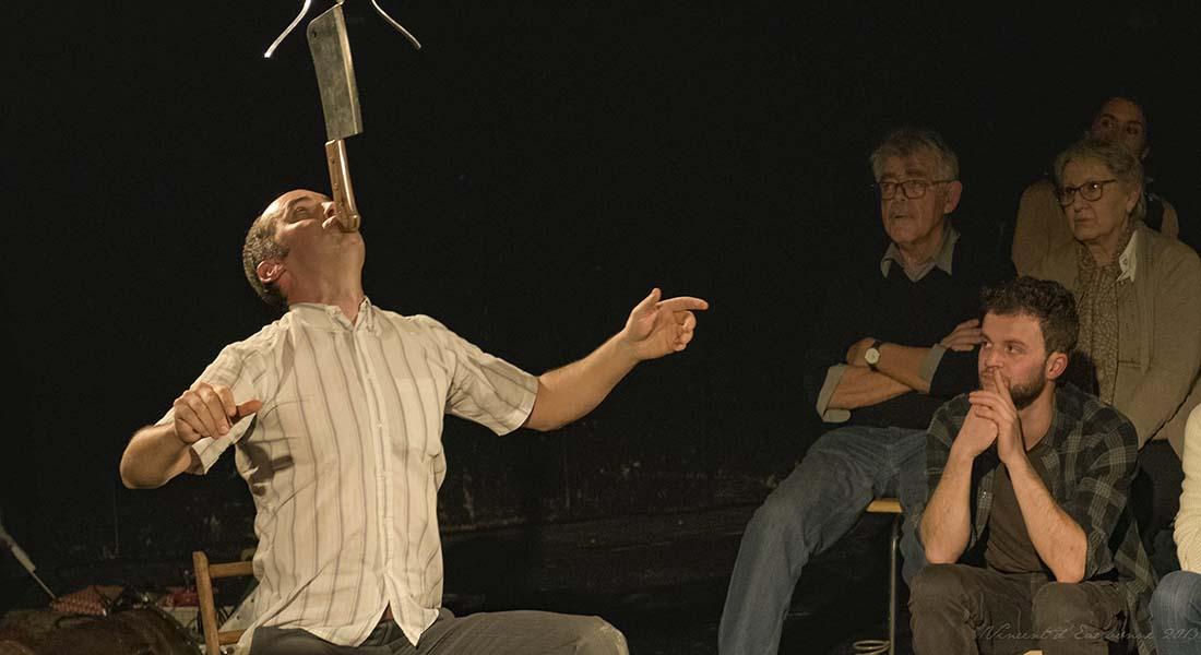 Le Cirque Piètre de Julien Candy, mis en scène par Christian Lucas - Critique sortie Avignon / 2019 Avignon Avignon Off. Villeneuve en scène