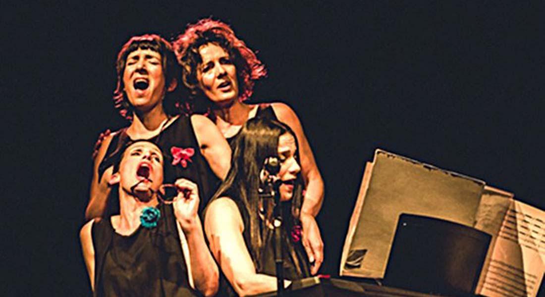 Le pari d'en rire d'après le répertoire des Quatre Barbus, mis en scène par Jean-Jacques Minazio - Critique sortie Avignon / 2019 Avignon Avignon Off. L'Entrepôt