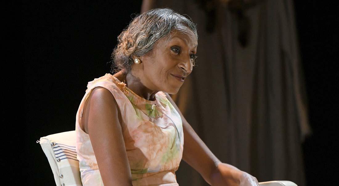Stéphanie St-Clair, reine de Harlem d'après Raphaël Confiant, mis en scène par Nicole Dogué - Critique sortie Avignon / 2019 Avignon Avignon Off. Le Petit Louvre