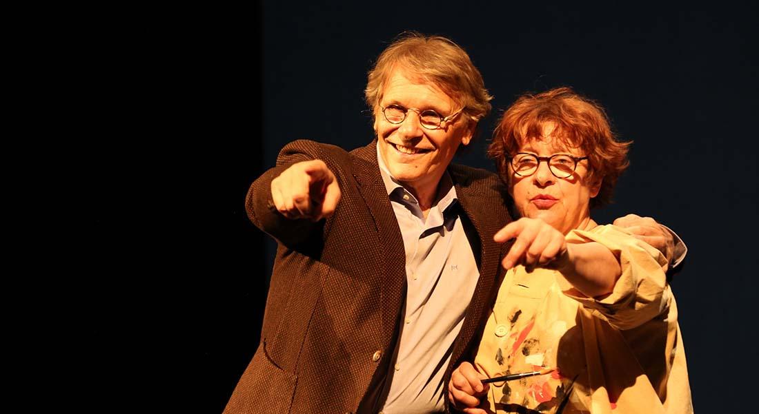 Un amour exemplaire, de Florence Cestac et Daniel Pennac, mis en scène par Clara Bauer - Critique sortie Avignon / 2019 Avignon Avignon Off. Théâtre du Chien Qui Fume