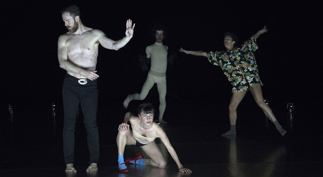 infini, chorégraphie de Boris Charmatz - Critique sortie Danse Nanterre Nanterre-Amandiers - Centre dramatique national