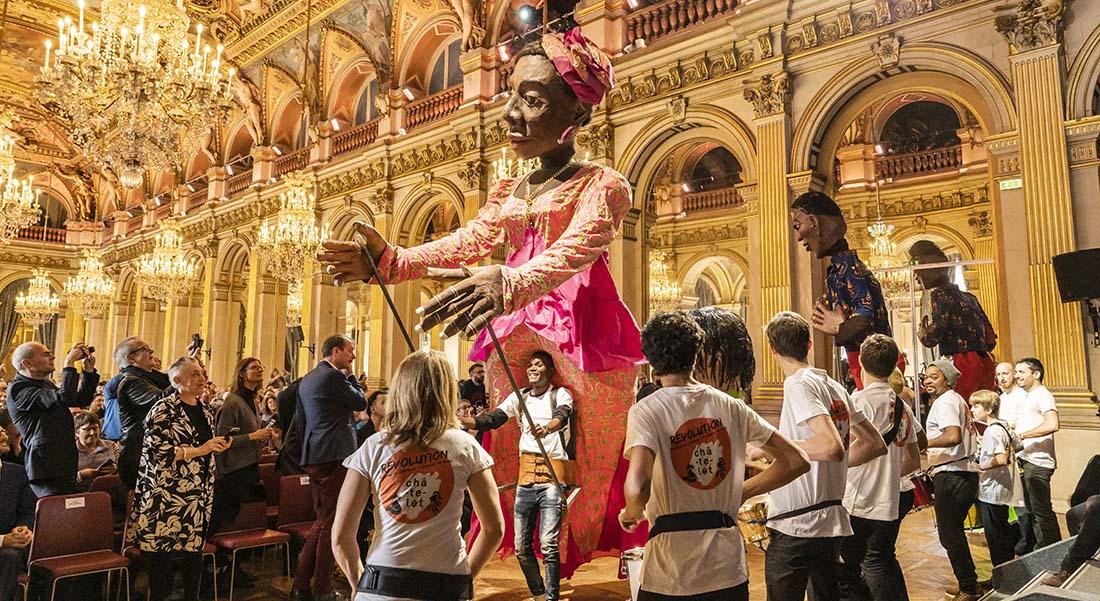 Parade mis en scène par Martin Duncan avec à la direction musicale Matthias Pintscher - Critique sortie Théâtre Paris Théâtre du Châtelet