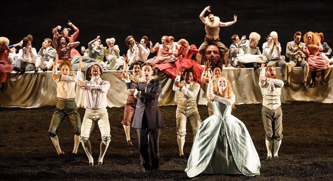Saül, Oratorio de Haendel, mis en scène par Barrie Kosky avec à la direction musicale Laurence Cummings - Critique sortie Classique / Opéra Paris Théâtre du Châtelet