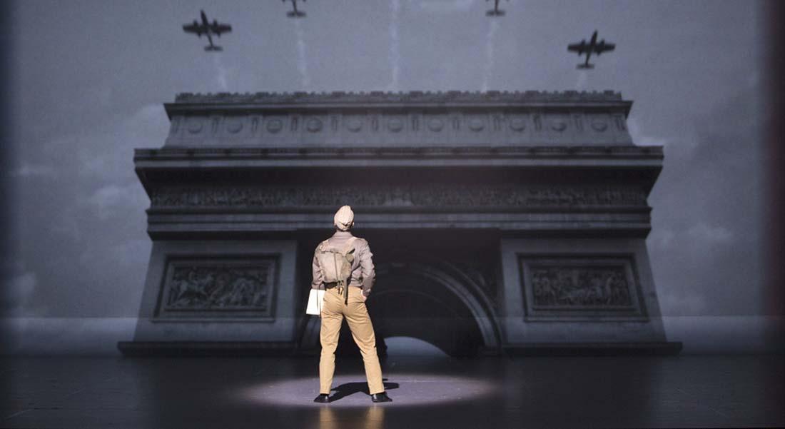 Un Américain à Paris de George et Ira Gerschwin, mis en scène par Christopher Wheeldon - Critique sortie Jazz / Musiques Paris Théâtre du Châtelet