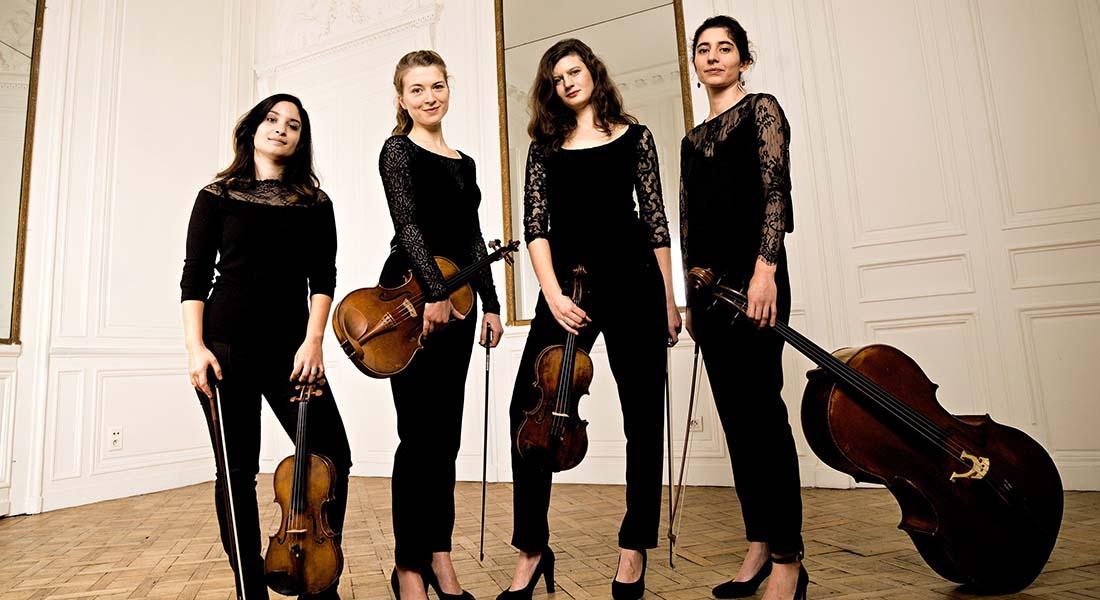 Quatuor Akilone aux Concerts de Poche - Critique sortie Classique / Opéra
