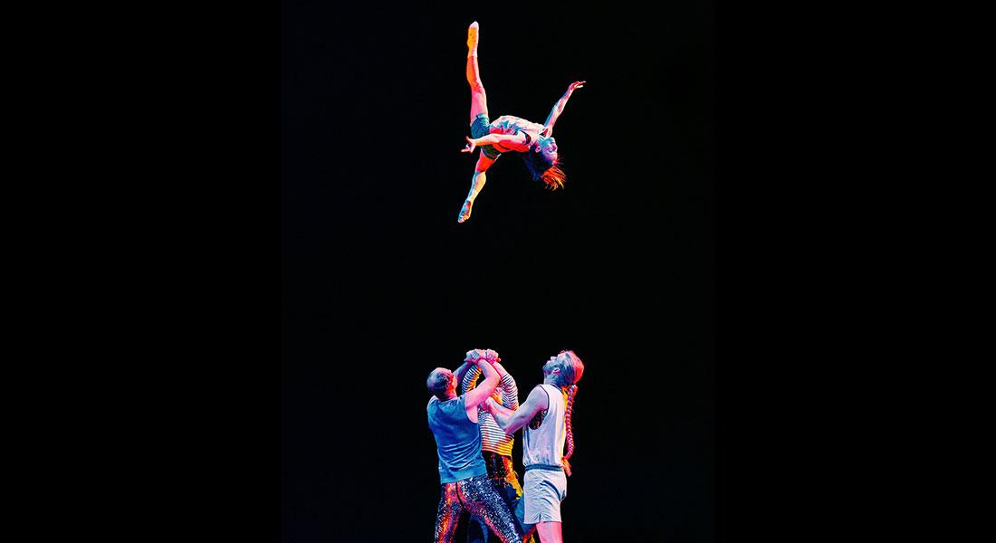 Circus I love you, une utopie circassienne et musicale sous chapiteau. - Critique sortie  Antony Théâtre Firmin Gémier - La Piscine - Espace Cirque d'Antony