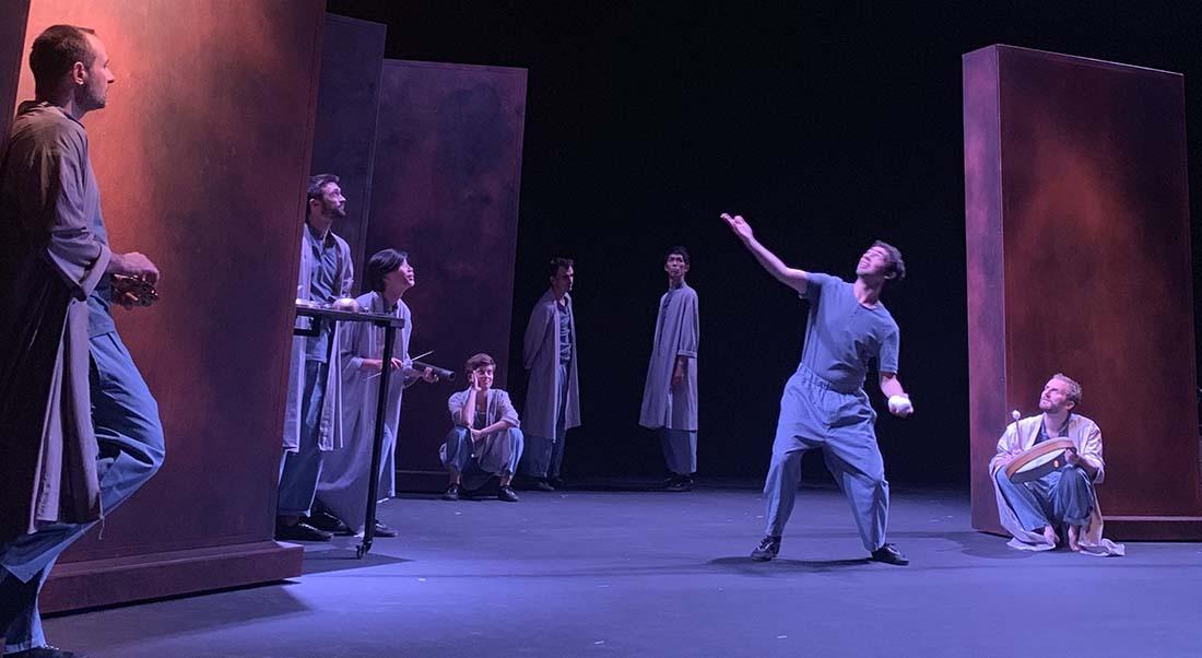 Encore la vie par le le Collectif Petit Travers - Critique sortie  Sète Théâtre Molière de Sète - Scène nationale Archipel de Thau