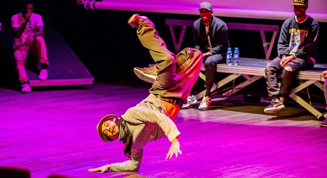 Hip Hop Games Romuald Brizolier et la compagnie Art-Track - Critique sortie Danse Bron