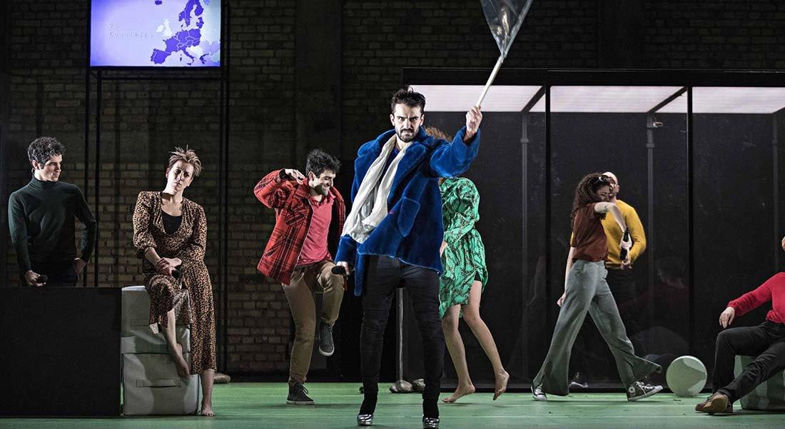 I am Europe de Falk Richter - Critique sortie Théâtre Paris Théâtre de l'Odéon-Ateliers Berthier