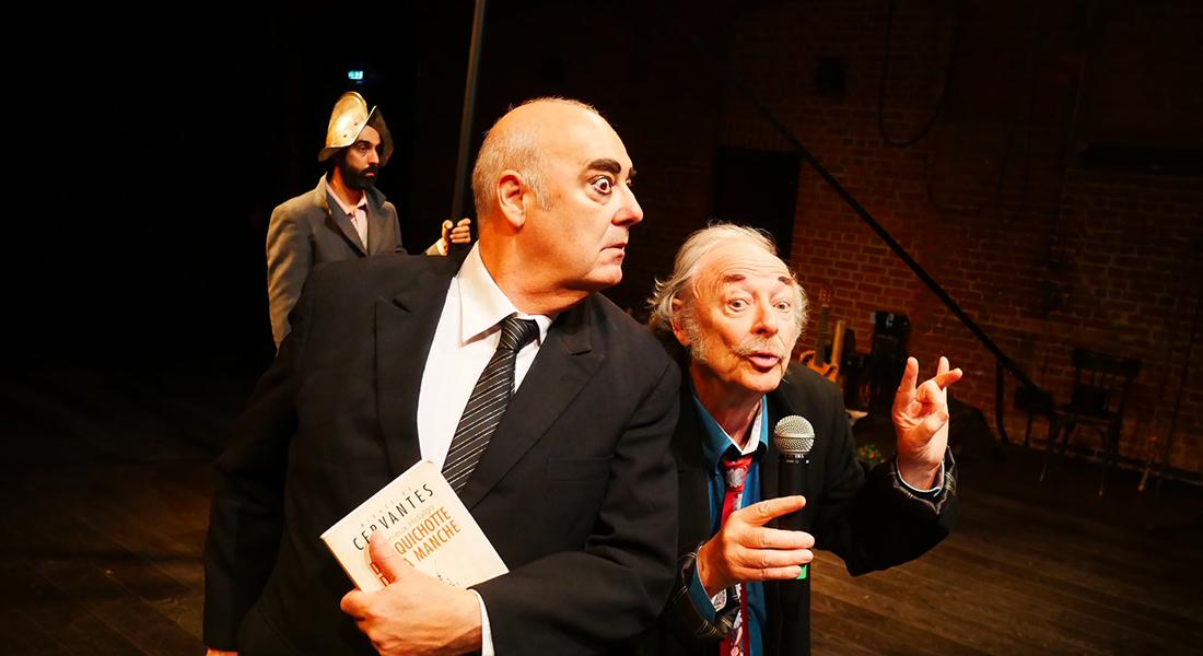 L'Aile du Radeau (Don Quichotte à la dérive) de Gilles Defacque - Critique sortie Cirque Lille Le Prato