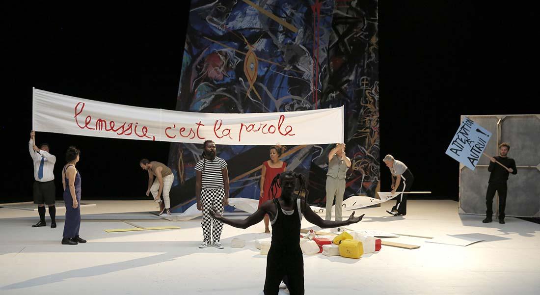 L'Animal imaginaire de Valère Novarina - Critique sortie Théâtre Paris La Colline - Théâtre national