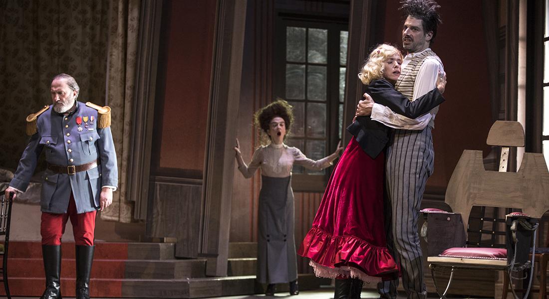 La Dame de chez Maxim de Georges Feydeau, mis en scène par Zabou Breitman - Critique sortie Théâtre Paris Théâtre de la Porte Saint-Martin