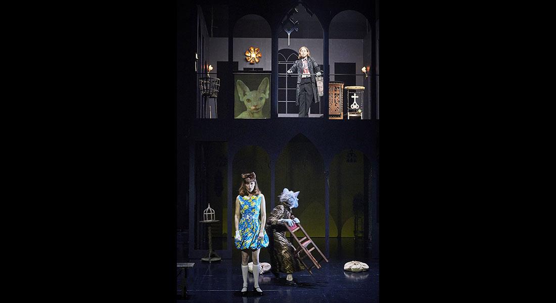 Lewis versus Alice d'après Lewis Carroll , mis en scène par Macha Makeïeff - Critique sortie Théâtre saint denis CDN Théâtre Gérard Philipe