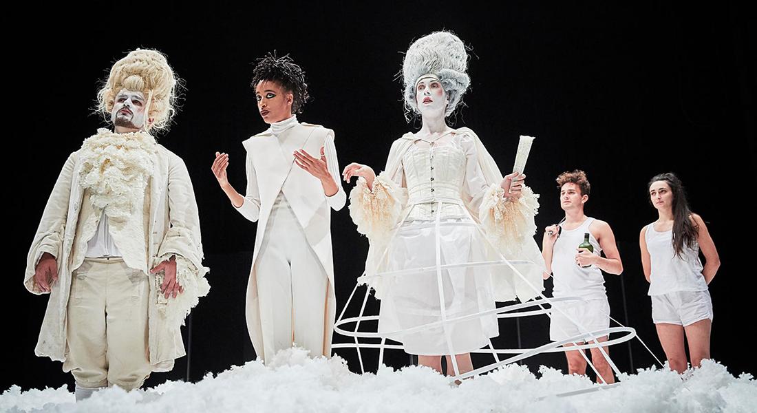 L'île des esclaves de Marivaux, mis en scène de Jacques Vincey - Critique sortie Théâtre Tours Théâtre Olympia - CDN de Tours