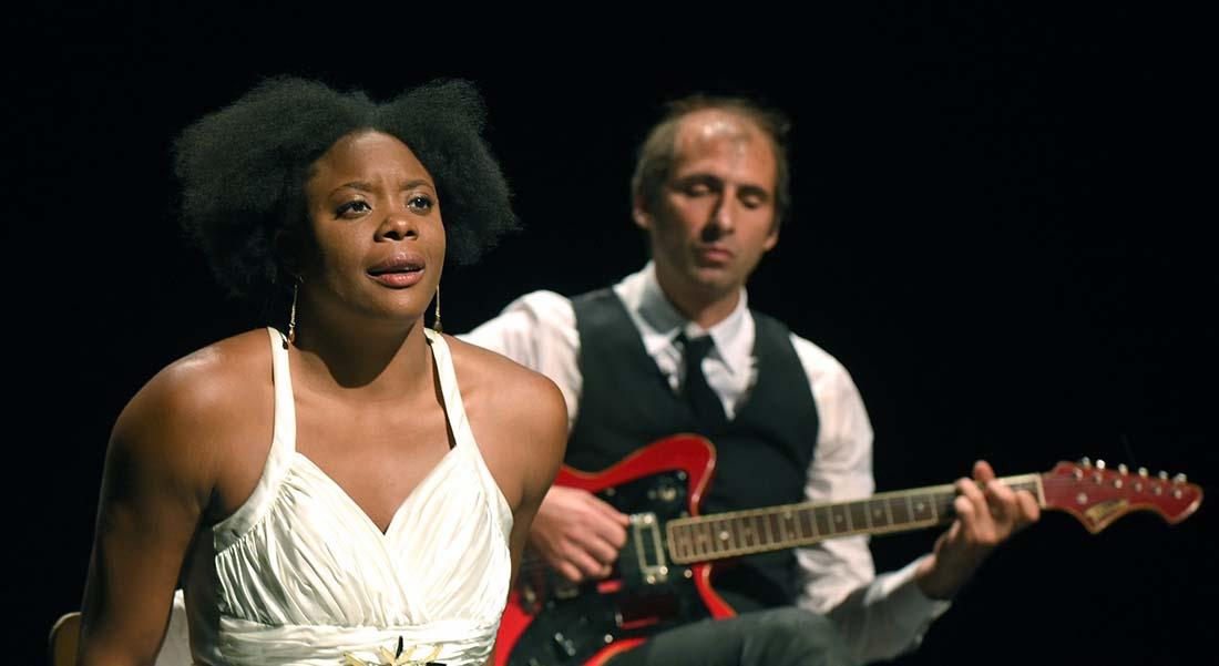 Portrait de Ludmilla en Nina Simone de et mis en scène par David Lescot - Critique sortie Théâtre Sartrouville Théâtre de Sartrouville et des Yvelines - Centre Dramatique National.