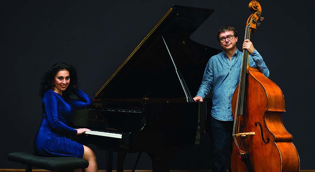 Ramona Horvath et Nicolas Rageau en duo signent « Le Sucrier Velours » - Critique sortie Jazz / Musiques Paris Institut Hongrois