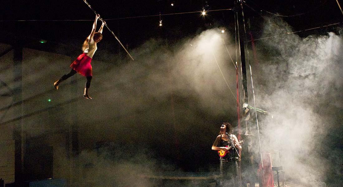 Résiste de Johanne Humblet - Critique sortie Cirque Auch Caserne Espagne - CIRC