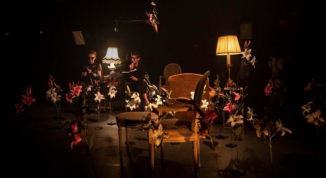 Un jardin de silence spectacle conçu par L. (Raphaële Lannadère), mis en scène de Thomas Jolly - Critique sortie Théâtre Paris La Scala