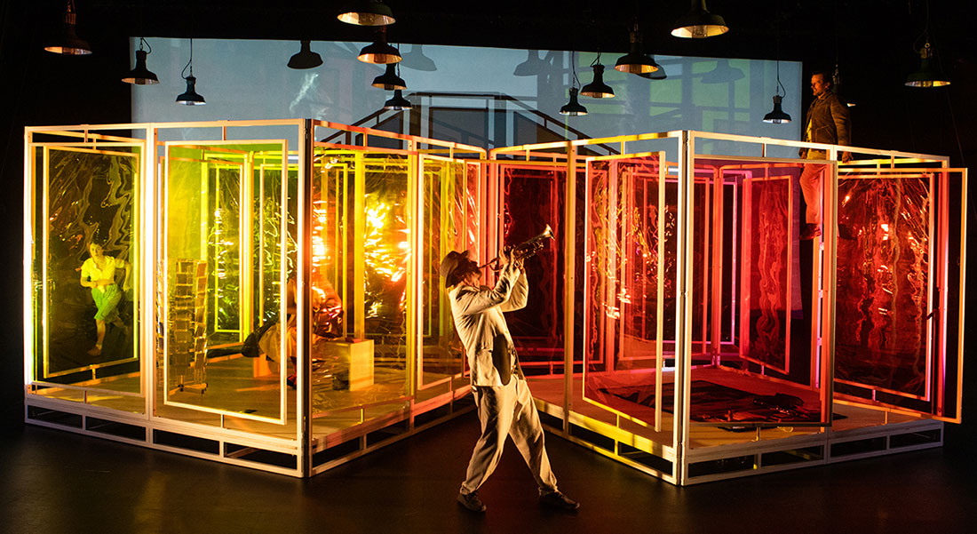 Narcisse et Écho, d'après Ovide, mis en scène par David Marton - Critique sortie Théâtre Strasbourg Maillon - Théâtre de Strasbourg - Scène européenne