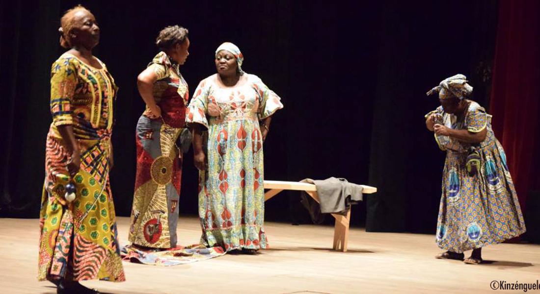 Le Jour où Siméon sortira de Kani Kabwé Ogney, mise en scène de Jean Felhyt Kimbirima - Critique sortie Théâtre Alfortville Le Théâtre-Studio