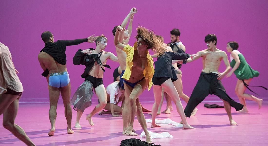Cunningham et Gutierrez par le CCN – Ballet de Lorraine - Critique sortie Danse Bobigny MC 93 - Maison de la culture de Seine-Saint-Denis Bobigny
