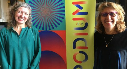 Entretien avec Marie Roche, directrice du Pacifique, et Joséfa Gallardo, directrice de La Rampe - Critique sortie Théâtre Échirolles PODIUM. La Rampe - La Ponatière
