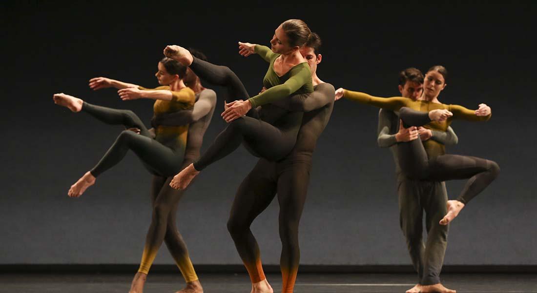 Merce Cunningham par le Ballet de l'Opéra de Lyon dans un fabuleux programme - Critique sortie Danse Paris Théâtre du Châtelet
