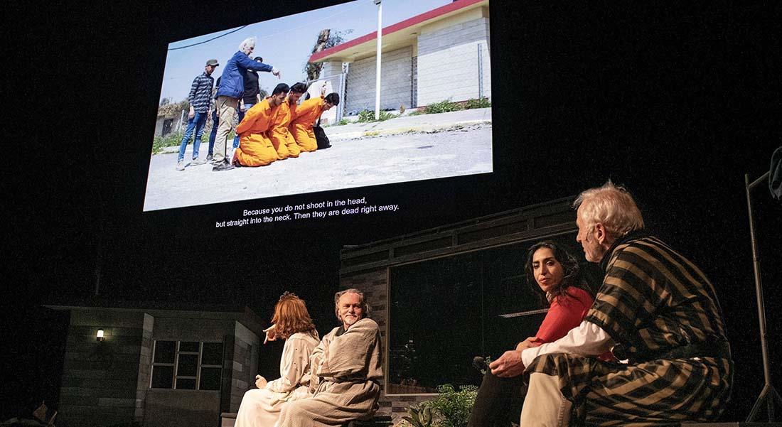 Orestes in Mosul et The Congo Tribunal de Milo Rau - Critique sortie Théâtre Villeneuve-d'Ascq