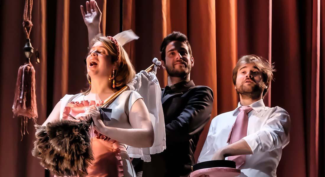 Le Testament de la tante Caroline de Roussel par Les Frivolités parisiennes - Critique sortie Classique / Opéra Rungis THEATRE DE RUNGIS
