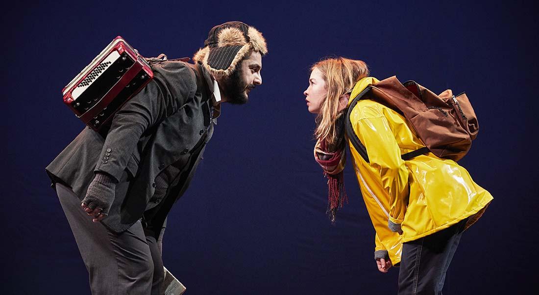Thélonius et Lola de Serge Kribus, mise en scène de Zabou Breitman - Critique sortie Théâtre Oullins Théâtre de La Renaissance