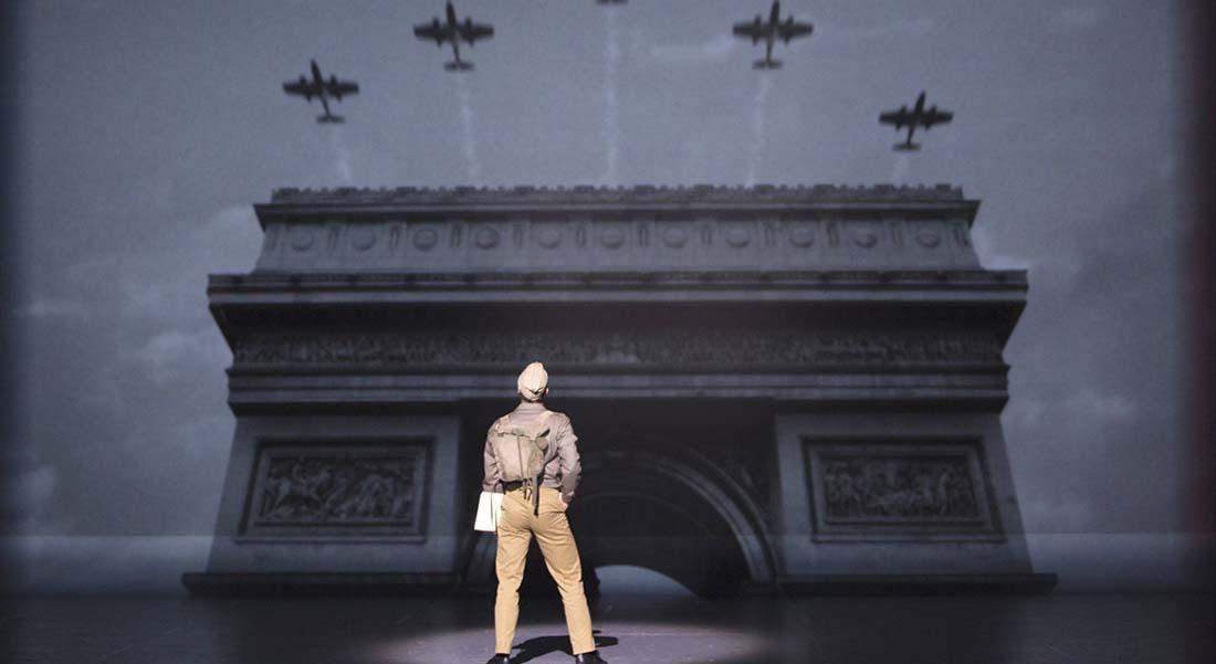 Un Américain à Paris de George et Ira Gershwin dans la mise en scène de Christopher Wheeldon - Critique sortie Jazz / Musiques Paris Théâtre du Châtelet