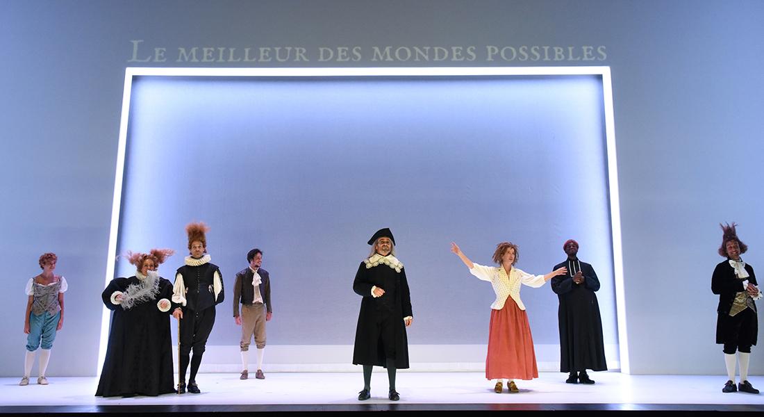 Candide de Voltaire, mis en scène par Arnaud Meunier - Critique sortie Théâtre France En tournée