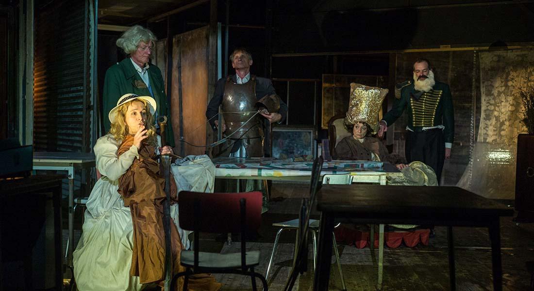 Item de François Tanguy - Critique sortie Théâtre Gennevilliers T2G - Théâtre de Gennevilliers