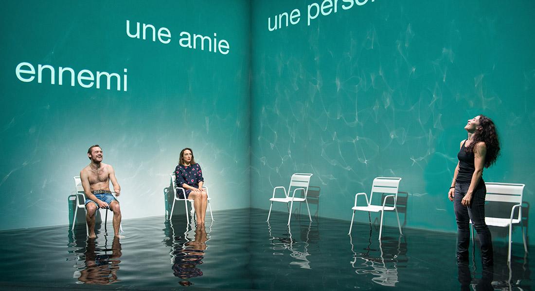Nous pour un moment d'Arne Lygre, mis en scène par Stéphane Braunschweig - Critique sortie Théâtre Paris Odéon - Les Ateliers Berthier