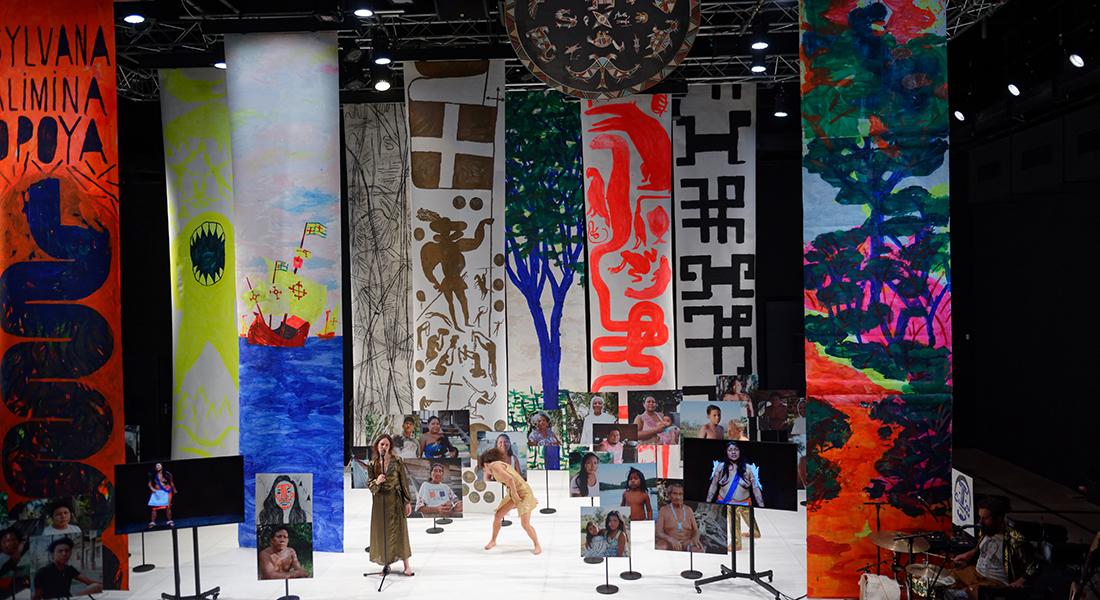 Selve, conception et mise en scène Christophe Rulhes - Critique sortie Cirque Lille Le Prato - Théâtre International de Quartier