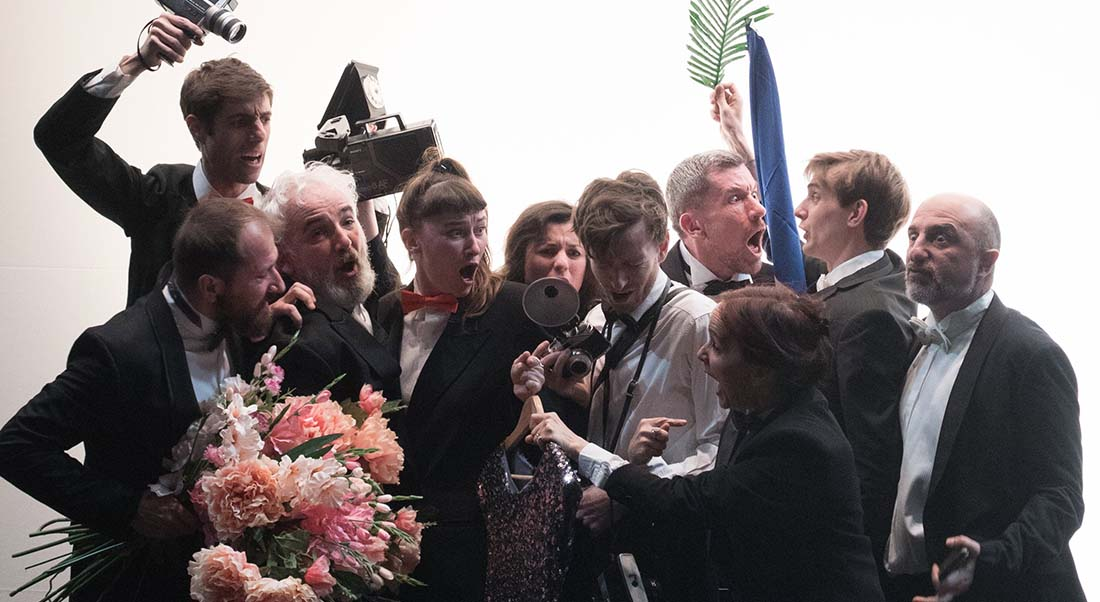 Cannes Trente-neuf / quatre-vingt-dix, écrit et mis en scène par Etienne Gaudillère - Critique sortie Théâtre Malakoff Théâtre 71