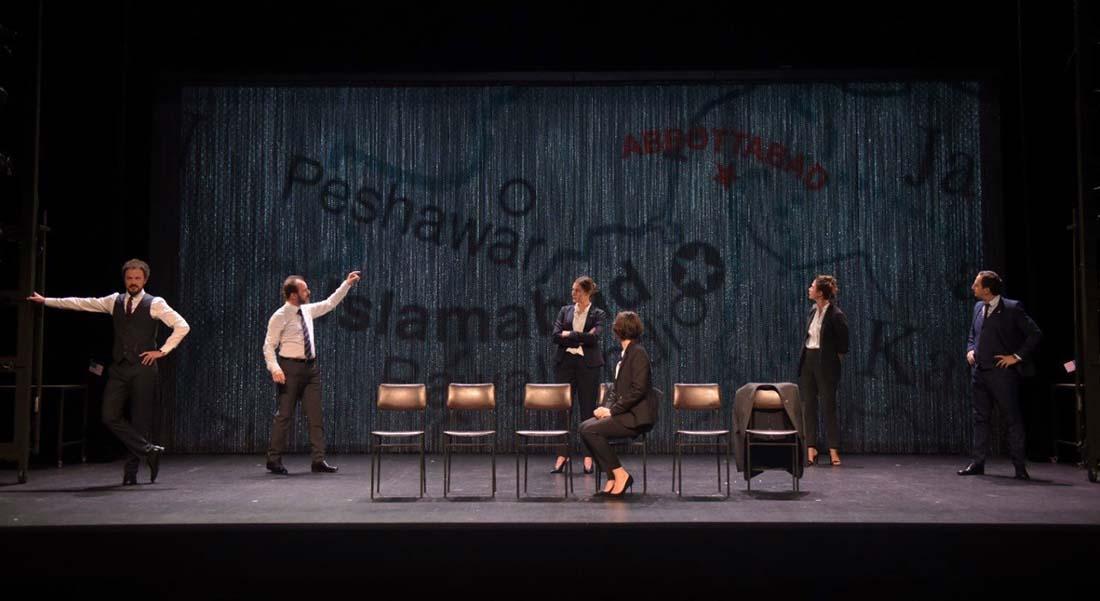 La très bouleversante confession…, d'après Emmanuel Adely, mise en scène de Clément Bertani et Edouard Bonnet - Critique sortie Théâtre Paris Le Monfort