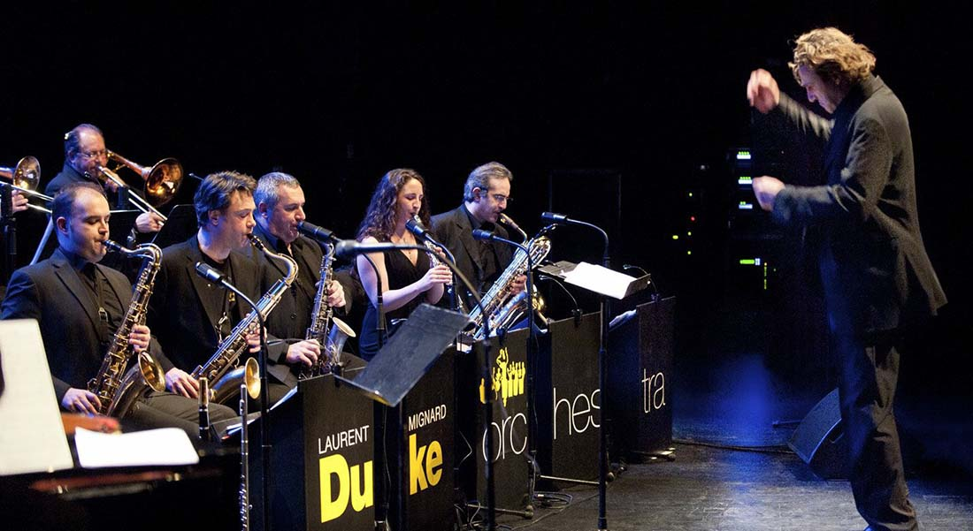 Duke Orchestra : nouveau programme « Duke Ladies » - Critique sortie Jazz / Musiques Paris Jazz Café Montparnasse