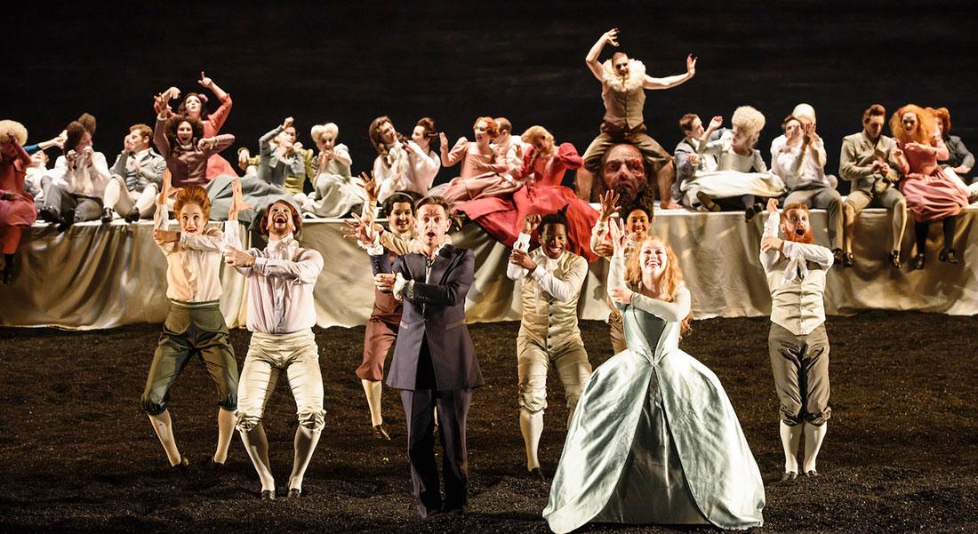 Saül mis en scène par Barrie Kosky - Critique sortie Classique / Opéra Paris Théâtre du Châtelet