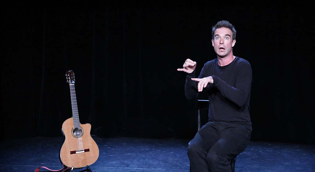 La Valse d'Icare de et avec Nicolas Devort, mis en scène de Stéphanie Marino - Critique sortie Théâtre Paris _Le Lucernaire