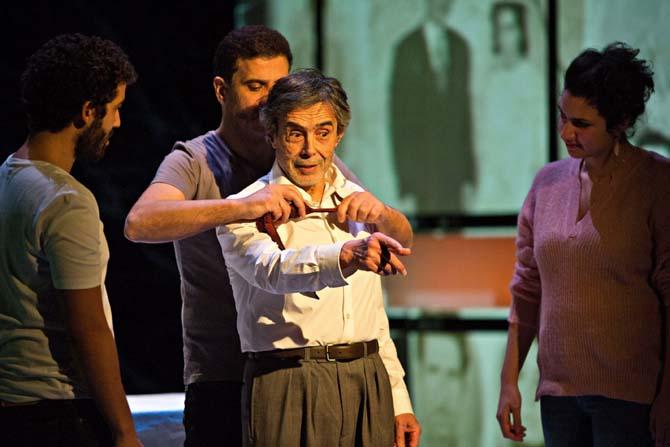 Vertiges de Nasser Djemaï - Critique sortie Théâtre Paris Théâtre de la Colline
