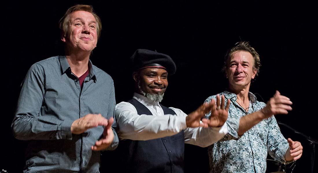 Oboman et son nouveau trio « African Dream » - Critique sortie Jazz / Musiques Les Lilas Le Triton