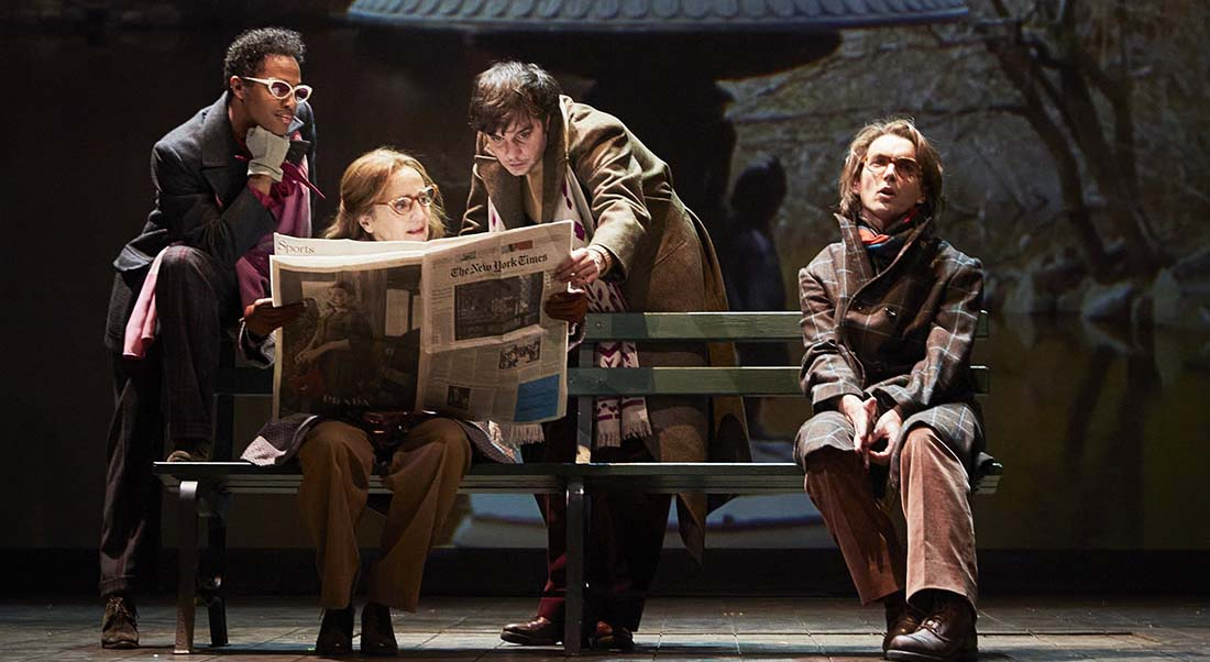 Angels in America de Tony Kushner, mis en scène par Arnaud Desplechin - Critique sortie Théâtre Paris Comédie-Française