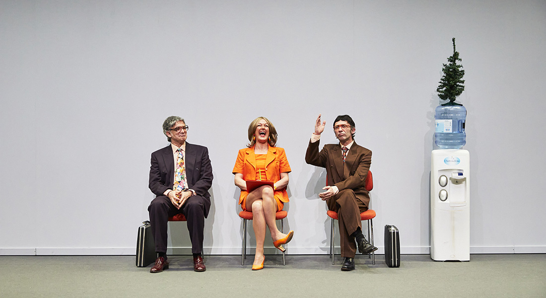 Entreprise de Jacques Jouet, Rémi De Vos et Georges Perec, mis en scène par Anne-Laure Liégeois - Critique sortie Théâtre Malakoff Théâtre 71