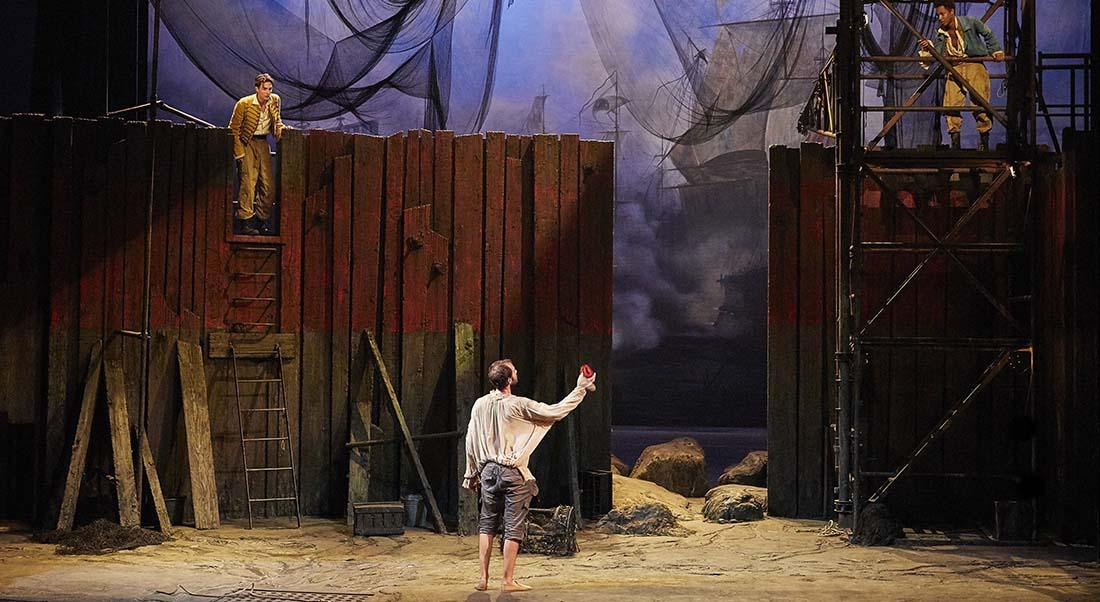 Les Fourberies de Scapin de Molière, mise en scène de Denis Podalydès - Critique sortie Théâtre Suresnes Théâtre de Suresnes Jean Vilar