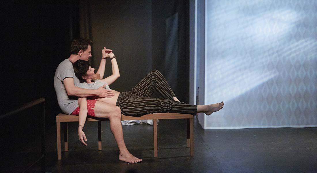 Pour le meilleur et pour le dire de David Basant et Mélanie Reumaux, mis en scène par David Basant - Critique sortie Théâtre Paris Théâtre La Scène Parisienne