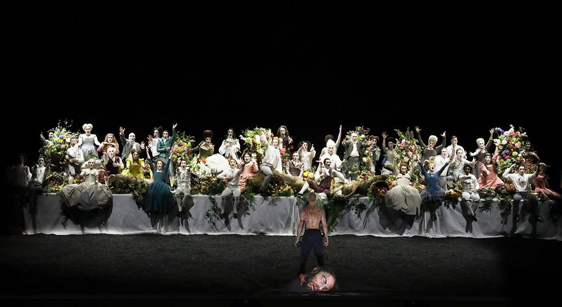 Saül  Le metteur en scène australien Barry Kosky signe une mise en scène splendide de l'oratorio de Haendel. - Critique sortie Classique / Opéra Paris Théâtre du Châtelet