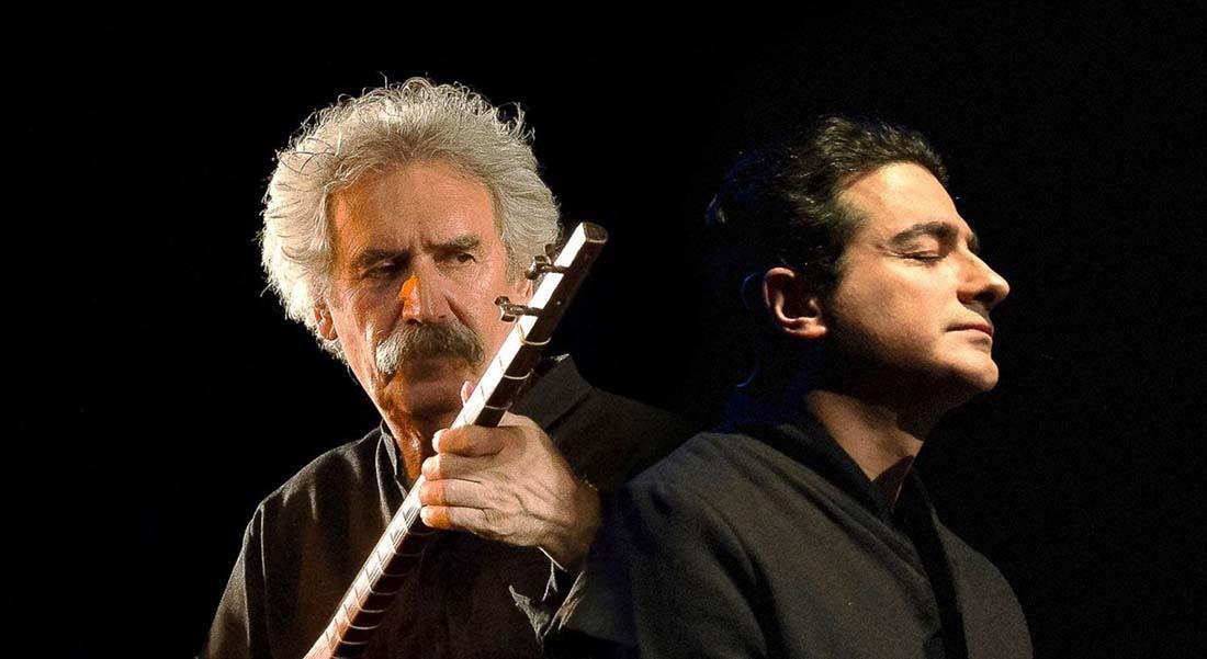 Kaykhosro Pournazeri et l'Ensemble Shamss - Critique sortie Jazz / Musiques Paris Espace Cardin
