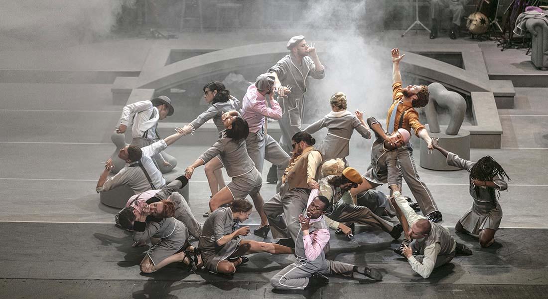 Danser la communauté, Chorégraphie de Sidi Larbi Cherkaoui et du GöteborgsOperans Danskompani et Eastman - Critique sortie  Paris Grande Halle de la Villette