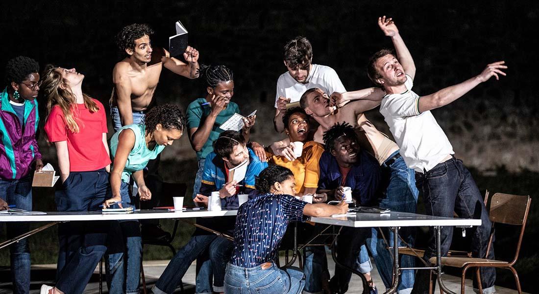 Mont Vérité texte de Pascal Rambert, mise en scène de Pascal Rambert et Rachid Ouramdane - Critique sortie Danse Bobigny MC93
